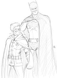 superhero dc comics batman and robin coloring pages womanmate com