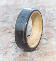 bog the wedding band bog oak rings