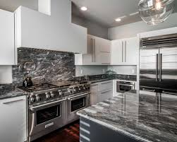 contemporary white kitchen in allentown pa morris black the custom built hood over the wolf range is painted white to match the surrounding cabinetry
