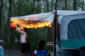 Replacement Pop Up Camper Curtains Maria And John U0027s Remodeled Pop Up Camper Diy Del Ray