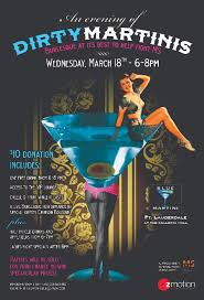 blue martini flyer for ms fundraiser held at blue martini laureen biruk