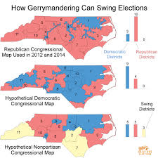 North Carolina State Map by These Three Maps Show Just How Effectively Gerrymandering Can