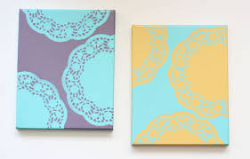 diy abstract wall art pinterest how to stencil diy diy abstract kids room do it yourself wall art