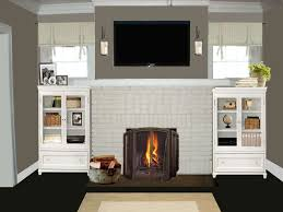 fireplace fireplace heaters lowes menards fireplaces menards