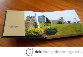 Custom Wedding Album Our Wedding Albums Rick Bouthiette Photography