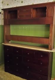 how i re purposed a bookcase headboard into a keepsake hutch