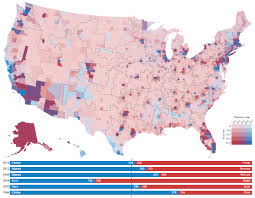 1996 Presidential Election Map by Random States Of America Vivid Maps