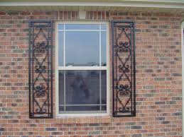 decorative shutters wrought iron home wrought