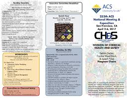 news acs division of chemical health and safety