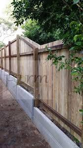 privacy fence building build a fence on sloped ground backyard