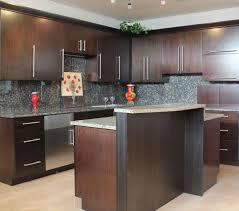 Glass Panel Kitchen Cabinets Flat Panel Kitchen Cabinets Kitchen Decoration