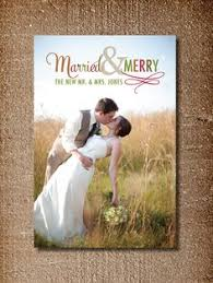just married send your card as newlyweds personalize a