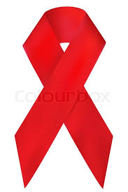illustration of breast cancer awareness ribbon isolated on white