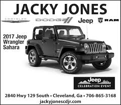 jeep sahara 2017 black 2017 jeep wrangler sahara cleveland georgia