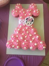 girl birthday ideas minnie mouse cupcake cake birthday ideas minnie birthday