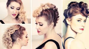 rockstar hair tutorial kiesza u0027a faux hawk hairstyle retro curls