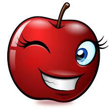 Mondspeer Deviantart - smiling objects apple by mondspeer on deviantart