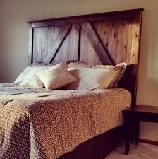 Headboard Made From A Door Remodelaholic 50 Diy Handmade Headboards Link Party