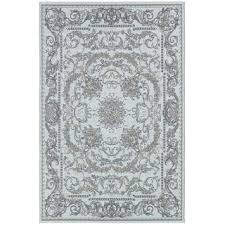 Blue Grey Area Rugs Dolce Messina Or Sky Blue Grey Power Loomed Area Rug Square Light