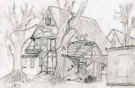 free photo drawing pencil drawing home free image on pixabay