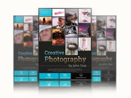 unique photography template for every of artis and photography