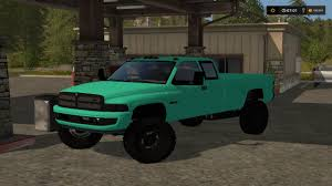 cummins challenger fs17 mint green 2nd gen dodge 3500 cummins v1 farming simulator