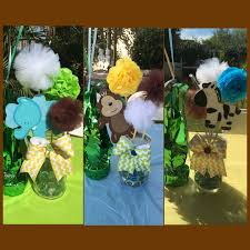 jungle baby shower ideas astonishing baby shower jungle theme centerpieces 21 in baby