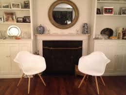 Design Within Reach Eames Chair Before U0026 After Eames Chairs Sheepskin Kate Kelly Design