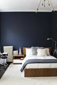 chambre peinte en bleu déco chambre bleu calmante et relaxante en 47 idées design