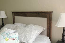 Upholstered Headboards Diy by Amazing Wood And Upholstered Headboard U2013 Interiorvues