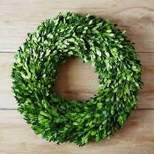 boxwood wreath boxwood wreath west elm