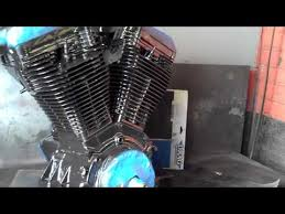 Harley Textured Black Paint - abb 18 how to build a cheap harley engine paint u0026 polish legs