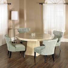Wonderful White Round Dining Table Set To Design - Round white dining room table set