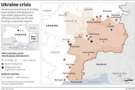 Map Ukraine War Reporter Explains How Ukraine Became A U0027post Apocalyptic