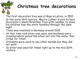 First Decorated Christmas Tree Latvia by Where Did The Celebrations Come From Ppt Download