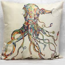 Octopus Home by Octopus Pillow Octopus Embroidered Pillow Pier 1 Imports 2875888