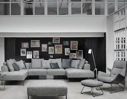 Wohnzimmer Einrichten Mit Schwarzem Sofa Raum Freunde Matteo Die Wohnlandschaft Für Design Liebhaber