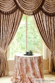 Valances Com Baroque Floral Classic Overlapping Swag Valance Curtains