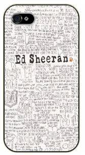 ed sheeran lyrics quotes amazon com iphone 5 5s handwritten lyrics black plastic case ed