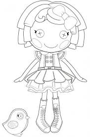 100 ideas coloring pages lalaloopsy emergingartspdx