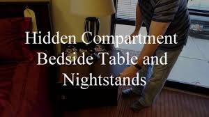 hidden compartment nightstands by wilding wallbeds youtube