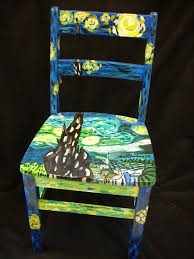 Painted Chairs Images 136 Best Painted Chair Craft Images On Pinterest Home Diy And
