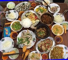 table full of food table full of food malaysia boleh s photo in boon lay singapore