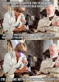 Luke Meme - watch out luke star wars may the force be with you pinterest