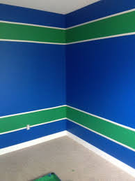 painting my room canucks colours canucks