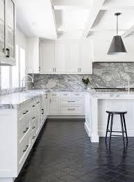 refreshing black kitchen floor tile with best 25 flooring ideas on