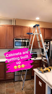 Ceiling Height Cabinets Living With Lexie Kitchen Update