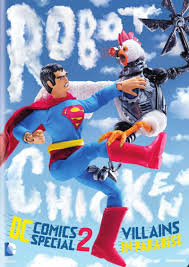 Wildfire Cartoon Dvd by Robot Chicken Dc Comics Special 2 Villains In Paradise Dvd Review