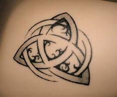 crow n celtic triquetra tattoo design tattooshunt com