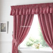 Gingham Curtains Pink by Red Gingham Curtains Interior Design